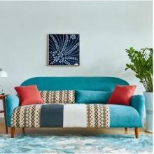小户型北欧家具组合现代简约单人双人三人座经济型客厅布艺沙发床