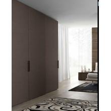 现代木纹整体衣帽间全屋定制开放式平板衣橱衣柜定做家具装修设计
